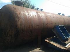 Ammonia barrel, receiver, gas tank, tank is 40 m, the Machine 1K62