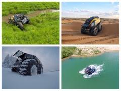 ATV - all terrain vehicle is the Sherpa (Sherp)