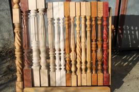 Balusters Oak and Beech (Small and Large)-Large selection-Discount