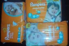 "Best diapers on the market ""Pampers Sleep&Play"" wholesale"