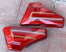 Боковая крышка Альфа (пара) красная