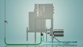 Capacitive milk pasteurizer for 100 l UZM-0.1E