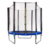 Children's trampoline with a protective net, diameter 180 cm
