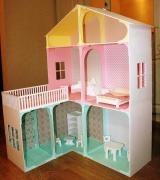 Dollhouse made from wood exclusive design