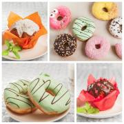 Doughnuts, Berliner Donuts with fillings from the manufacturer
