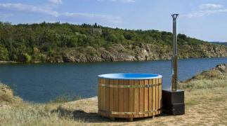 FinSpa wood-fired hot tubs