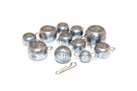 Fishing sinkers, jig heads, low prices