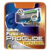 Gillette Fusion ProGlide Power 4 картриджа в упаковке