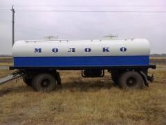 Изготовление автоцистерн, водовозов, молоковозов, рибовоз. Асені