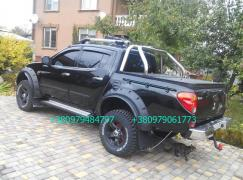 Крышка кузова Фиат Фулбэк, Л200. Тюнинг Fiat Fullback, L200