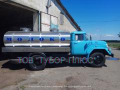 Manufacturer of milk trucks, tank trucks, water trucks, fish trucks