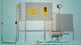 Пастеризатор молока емкостной на 200 л УЗМ-0,2Е