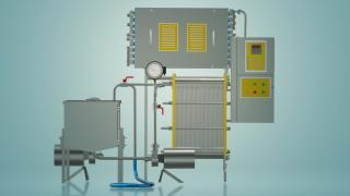 Пастеризатор молока проточный 3 т/ч УЗМ-3,0Р