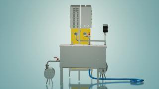 Пастеризатор молока для виробництва сиру 1 т / год УЗМ-1,0П