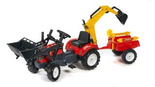Pedal tractor with trailer and two ковшамиFalk 2051CN