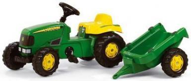 Pedal tractor with trailer Rolly Toys Kid John Deere 12190