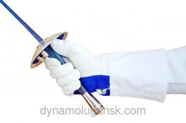 Перчатка фехтовальная для 3-х видов оружия. Арт. IG3Blue Имидж