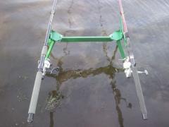 Подставка на 3-4 удилища, фидерного, поплавочного, донного (+ ви
