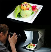 Portable mini photo Studio Soft Light Box with LED lighting