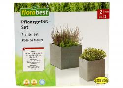 Pot for flowers, universal, gray