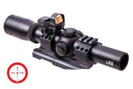 Продам комплект Burris FF Tac 30, 1X-4X-24mm LRS, Ball W/FF (Нов