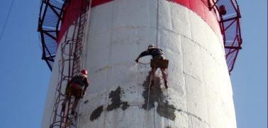 Промышленный альпинизм. Высотные работы