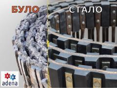 Ремонт, реставрация прутковых транспортеров на Holmer, Ropa, Gri