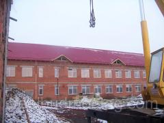 Реставрация крыш помещений