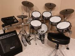 Роланд ТД 30кв в барабан набор/жемчуг ссылка чисто 7-кусок набор ударных