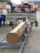 Sawmill CTR 750 EV with electric motor