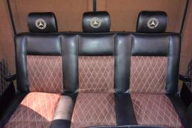 Seating sofas for minibuses beads seats for minibuses