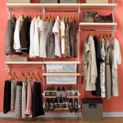Системы хранения в гардеробной, кладовке