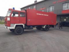 Спасательная машина химическая служба Jelcz P 415/2
