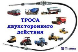 Тросы управления :кпп, тнвд, гст, сцепления, газа, для автобусов