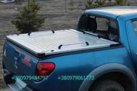 Трисекційна складна кришка багажника кузова для пікапа