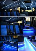 Тюнинг Внутренний Переоборудование микроавтобусов переделка перетяжка салона авто