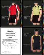 Волейбольная форма, женская, мужская, пошив, на заказ