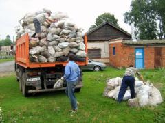 Вывоз строительного мусора, вывоз грунта, Киев